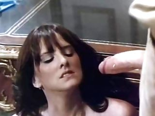 Amazing Facial Cumshot Retro Scene With Catherine Reynolds And Jesie St. James