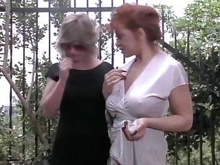 Perverted Girl-on-girl Hump Fantasy