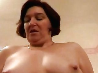 Brit 80s Fatty Cougar Elations Cooter Frigging And Hard-core Fuck With Youthful Stud