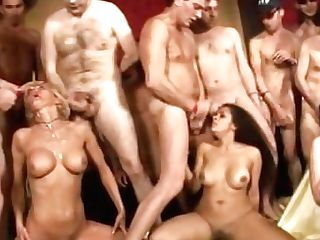 Italian Retro Tarts In Hot Underwear Are Having Xxx Orgy Fuck