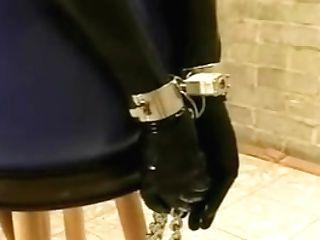 Antique Rubber Spandex Restraint Bondage